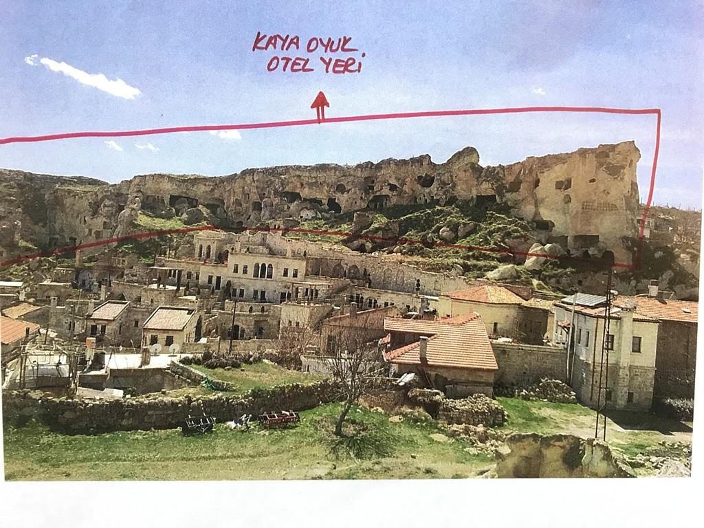 Kaya Oyuk (Kaya Damı) Otel Yapım Projesi